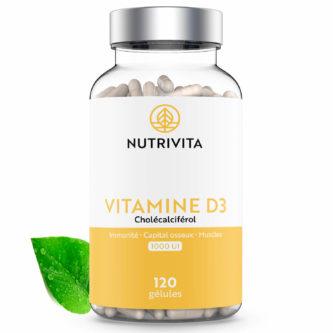 Vitamine D3 1000 UI Nutrivita