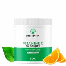 Vitamine C en poudre Nutrivita