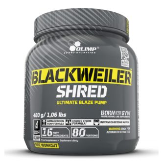 Blackweiler Shred Olimp Sport Nutrition