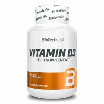 Vitamin D3 2000 UI BioTech USA