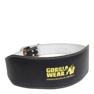 Full Leather Padded Belt Gorilla Wear